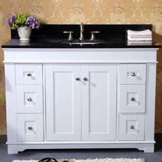 Bathroom Vanity White kitchen white ice granite bathroom vanity with white cabinet big