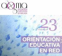 Monográfico de Febrero de 2017 en la Revista AOSMA sobre la orientación educativa en red.