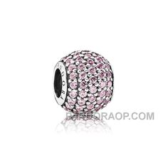 PANDORA PAVE LIGHTS WITH PINK CZ HOT, Only$13.00 , Free Shipping! http://www.pandoraop.com/pandora-pave-lights-with-pink-cz-hot.html