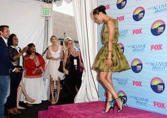 Tia & Tamera Mowry, Zoe Saldana, Jordin Sparks, Meagan Good & More GET FAB For The 2012 Teen Choice Awards | The Young, Black, and Fabulous