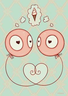Tara McPherson | ART Illustrations Line Art L is for Love.... this is going on my arm tattoo