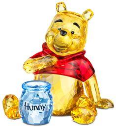 Winnie the Poo - Swarovski Crystal