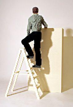 Incríveis Esculturas de Lego