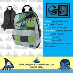 Uma linha muito top, produtos  feitos para uma grande marca nacional.    #cobradagua #backpack #mochilas #design #designgrafico #productdesign #projectdesign #graphicdesign #web #webdesign #logo #logotipos #marcas #leonidas #leonidasdesigner #sharks #tubarao #tubaroes #sparta #surf #spartan #surfing