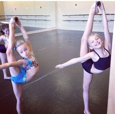 Jaycee Wilkins and Brynn Rumfallo some of the people lexy want to be like  but she really wants to be like sophia lucia