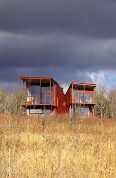 Y HOUSE. 1999. Catskills, New York, United States. Steven Holl
