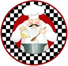 Chef With Pot (Stephanie Stouffer)