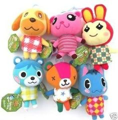 ☮✿★ Animal Crossing  ✝☯★☮ Making these into peg dolls might work!