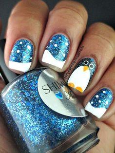 Pretty winter nails art design inspirations 7