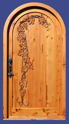 hand carved doors | Hand Carved Door - Designed From Historic Record - HCD5149