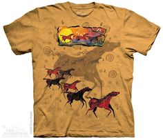 Wild Red Horses- The Mountain® T-Shirts