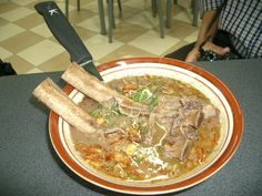 Sop Konro, a kind of beef ribs soup specialty of Makassar, South Sulawesi