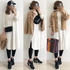 Classic Outfits, Cute Casual Outfits, Modest Outfits, Japan Outfit, Stylish Dresses For Girls, Tokyo Fashion, Winter Fashion Outfits, Minimal Fashion, Skirt Fashion