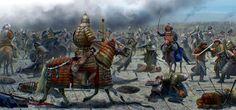 Mongol war