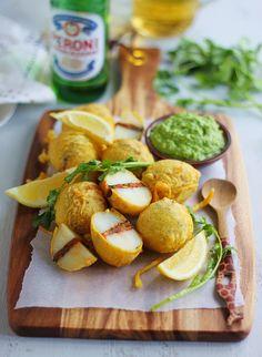 Mini Kenya-Style Packed Potatoes with Coconut and Coriander Chutney | K.O Rasoi