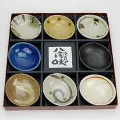 Japanese stoneware bowls
