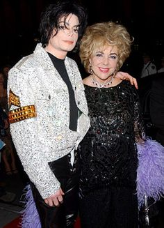 Michael Jackson and Elizabeth Taylor | Michael Jackson's 30th Anniversary Concert back in 2001