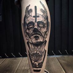 Excellent Blackwork Tattoo