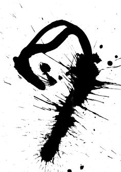 experimental calligraphy by mila blau