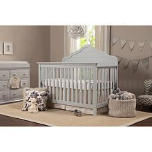 DaVinci Flora 4in1 Convertible Crib  Fog Gray