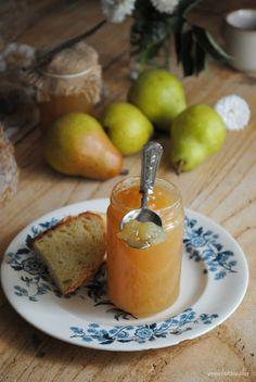 Pane, burro e alici: Confettura di pere Williams alla vaniglia