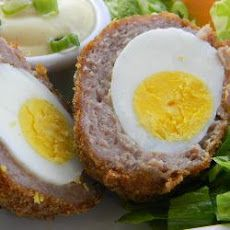 Good food shared lorraine pascales oven baked scotch eggs baked scotch eggs forumfinder
