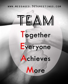 lots of good quotes about teamwork