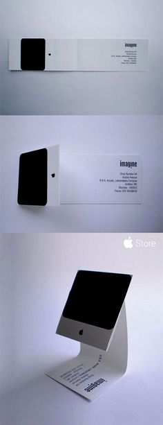 imagine - Apple iMac Business Card