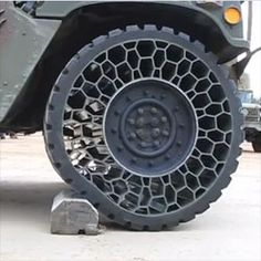 the Non-Pneumatic Tire by Resilient Industries. Military now For everyone later?