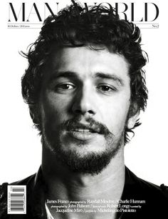 James Franco cover for Man of the World Magazine