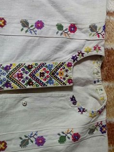 Costume, Traditional, Embroidery, Stitch, Canvas, Tattoos, Shirts, Blouses, Manualidades