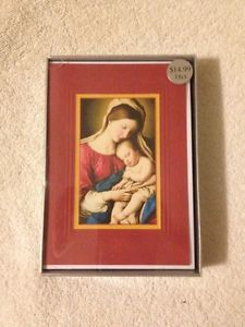 Kohl's Christmas Cards: 18 Ct - Mary And Jesus (New)