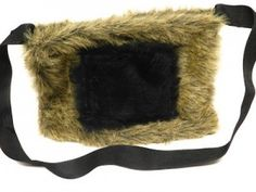 Back-to-School: Teen Fur Messenger Bag