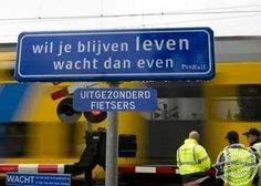 En ik maar denken dat fietsen gezond was. #taalvout  (Met dank aan Eddy Voorhuijzen!)