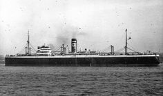 SS Afric Star built for Blue Star by Palmers Shipbuilding & Iron Co Ltd at Newcastle on Tyne. Launced 11/05/26 completed November '26.  GWt 11,900t. 470ft long, 67ft beam. She was a cargo passenger liner with a 180 1st Class capacity. Sunk by German Auxilary Cruiser Kormoran on 09/01/41 en route to Cape Verde Islands.
