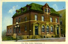 Post Office, Yorkton, Saskatchewan.––4 | saskhistoryonline.ca
