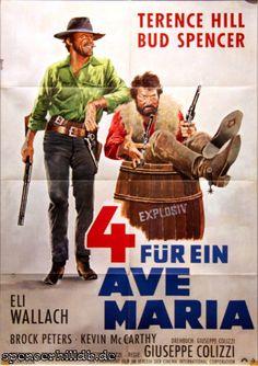 Plakat - 4 für ein Ave Maria - Bud Spencer / Terence Hill - Datenbank