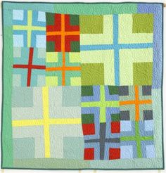 Among the simplest of all quilt blocks are those that make 'plus' and 'X' designs. The strips can be made either skinny or wide, and the sym...