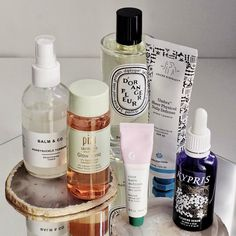 diptyque interior spray pixi glow tonic kypris clearing serum glossier balmdotcom balm & co honeysuckle and turmeric