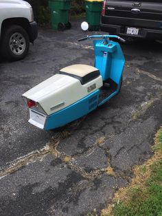 Classic Cushman Motor Scooters, Motor Car, Engine Working, Scooter Design, Mopeds, Bicycles, Motorbikes, Transportation, Trucks
