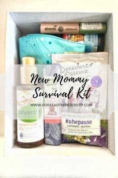 New Mommy Survival Kit - Diy Geschenke in 2019 Survival Kit Gifts, Survival Supplies, Survival Tips, Survival Skills, Survival Quotes, Outdoor Survival, New Mommy Gifts, Gifts For Mom, Baby Gifts