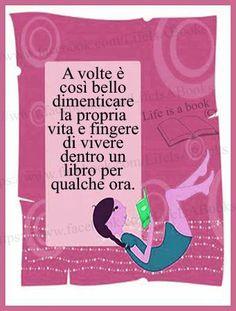 Vivere dentro un libro
