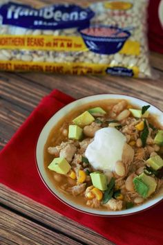 Slow cooker chipotle white bean chicken chili with sweet corn