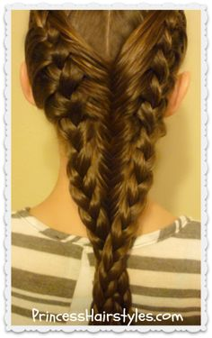 French Braids and Fishtail Braid #Hairstyle