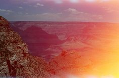 Beautiful picture by Vanessa Kowalski Holga, Paper Plane, Color Swatches, Paths, Grand Canyon, Beautiful Pictures, Sky, Sunset, World