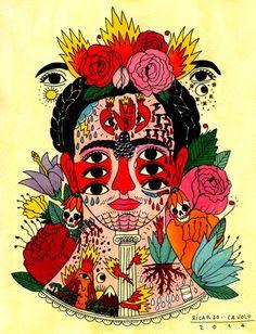 Conheça Ricardo Cavolo e suas fantásticas ilustrações tatuadas http://followthecolours.com.br/tattoo-friday/conheca-ricardo-cavolo-e-suas-fantasticas-ilustracoes-tatuadas/