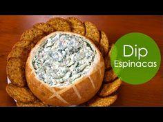 ▶ DIP DE ESPINACAS! (rica botana) - YouTube