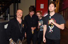 Backstage on Celebrity Juice - October 14, 2015
