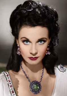 Vivien Leigh, That Hamilton Woman, 1941 - porcelan skin