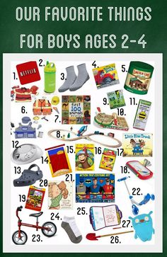 Our Favorite Things For Boys Ages 2 4 Christmas Gift Ideas Little 3 Year Old